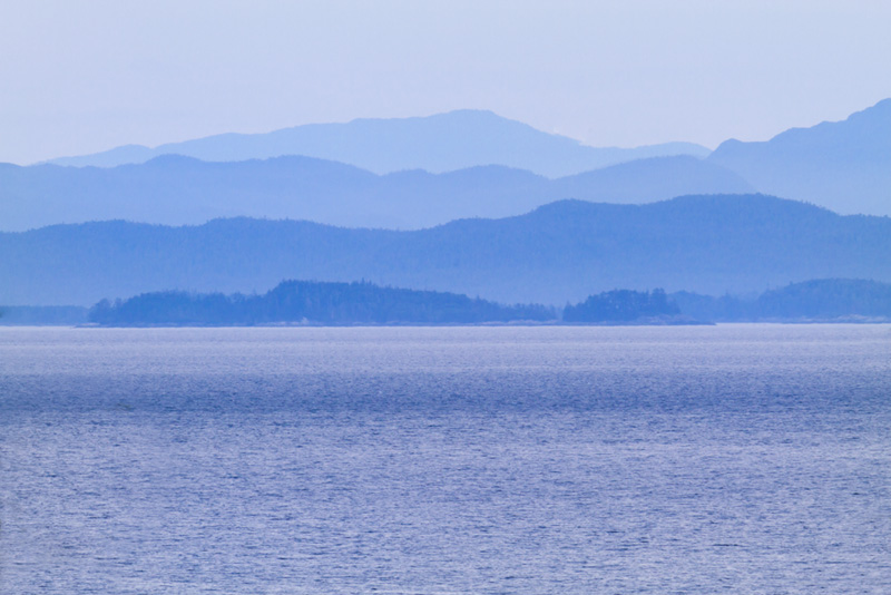 Shades of Bear Cove; Port Hardy, Vancouver Island, BC, Canada