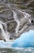 Icebergs and Waterfalls II, Endicott Arm, Southeast Alaska