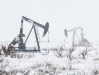 Pumpjacks in the Snow