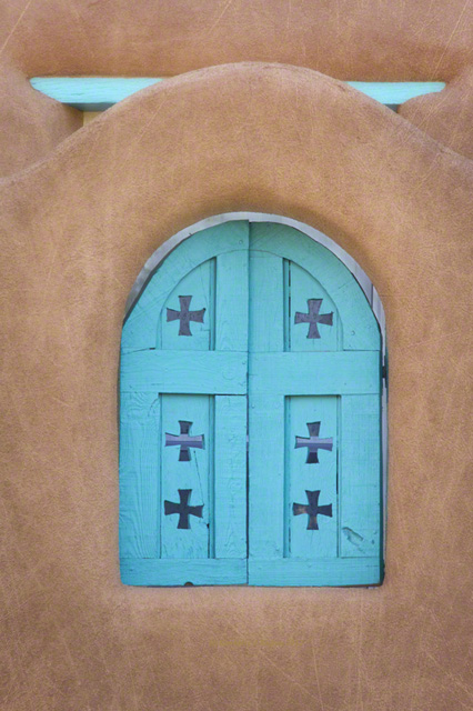 Turquoise and Crosses