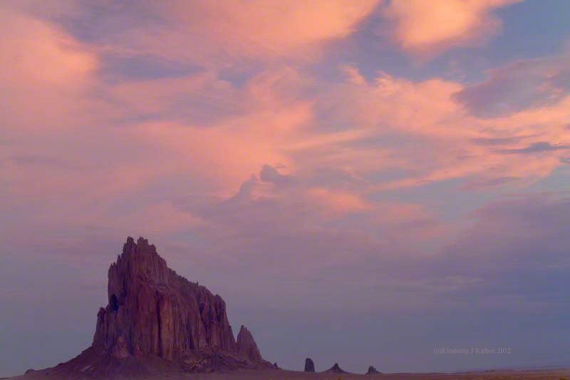 Shiprock Kind of Morning, New Mexico
