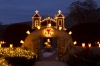 Christmas Farolitos, El Santuario de Chimayo