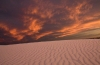 White Sands Gone Red